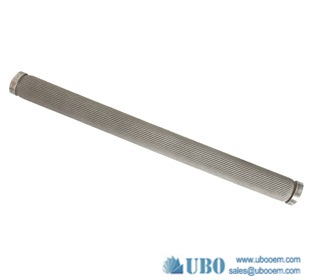 Stainless Steel Sintered Cylinder Filter Element