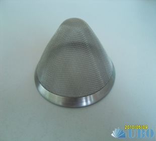 stainless steel filter in teapot