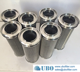 high quality 10 inch oil membrane stainless steel pleated filter element