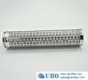 stainless steel hydac hydraulic oil pleated filter element