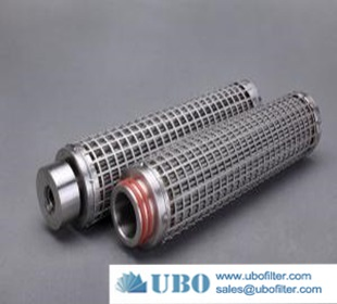Stainless Steel 304 Perforated Metal Tube Filter Stainless