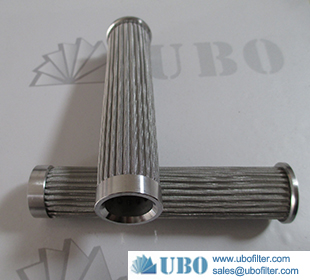 Stainless steel 316 pleated cartridge filter element