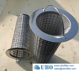 Stainless Steel 304 306 306L Perforated filter basket