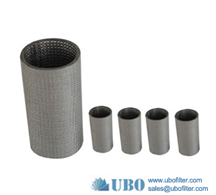 Stainless Steel 304 316 Sintered Metal Filter Cartridge Ensures Fine Filtration