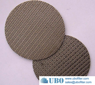 Stainless steel 304 316 sintered metal filter disc for filter
