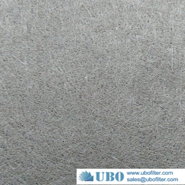 Stainless Steel 304 316 Sintered Metal Fiber Felt With Air