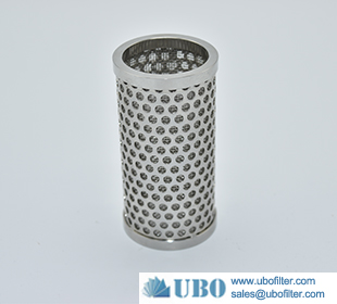Stainless Steel 304 306 306L Perforated filter tube element