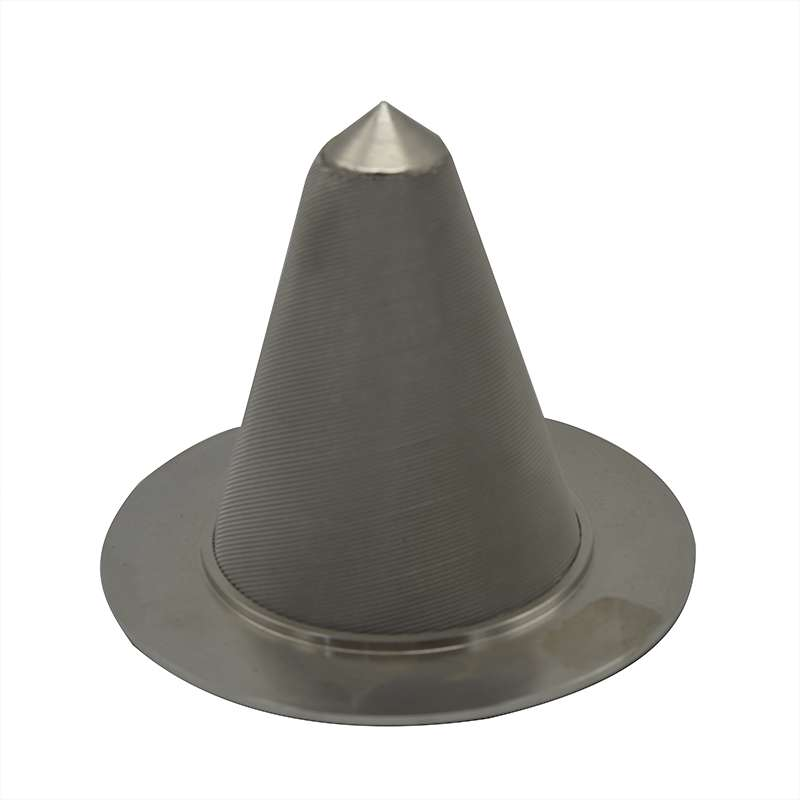 Stainless steel 304 316 Cone Filter Punching screen basket filter