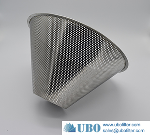 stainless steel mesh cone strainers for water element