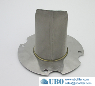 stainless steel 316L wire mesh cone filter for oil