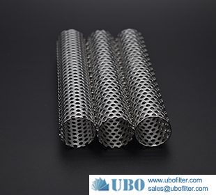 Professional 316l SS filter tube perforated tube for oil filter
