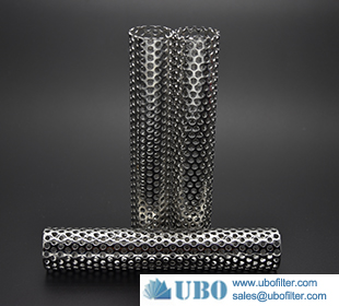 Stainless steel Perforated Tube Filter Elements for water