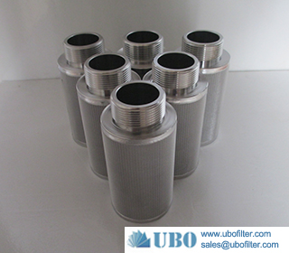 Stainless Steel Sintered Metal Mesh Filter Cartridge Fine Filtration