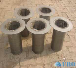 SS Wire Mesh Basket Filter Elements