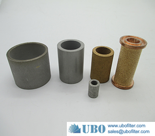 Powder Sintered Bronze 316L Stainless Steel Element Filter Cartridge