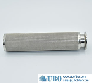 Stainless Steel Multilayer Sintered Cylinder Filter Element for Air Filtration
