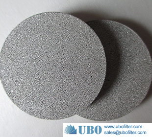 Stainless Steel Powder Sintered Filter Disc Element for Filtration