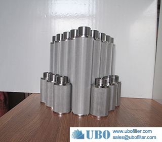 Stainless Steel Hydraulic Oil Sintered Metal Filter for Low Pressure