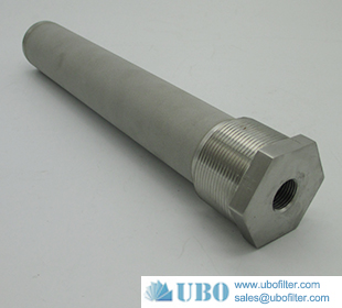 Sintered stainless steel powder filter