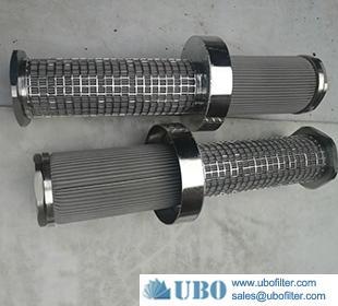 SS Perforated filter element for high pressure pump station