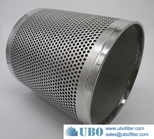 Stainless steel 304 Perforated Basket Tube Filter Elements