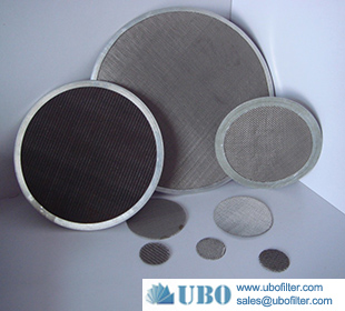 Stainless Steel Wire Sintered Mesh Filter Disc