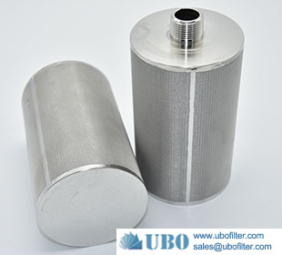 Stainless Steel 304 Sintered Cylinder Filter Element for Air Filtration