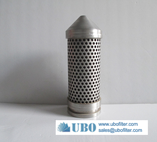 Stainless Steel Metallic Liquid Filter Element Basket Type Filter