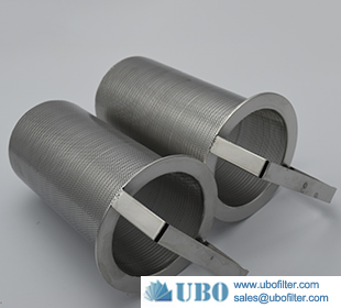 Stainless Steel 304 Perforated Support Baskets Filter Element