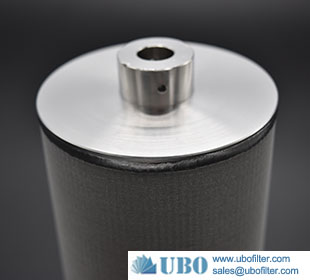 Stainless steel multi layers sintered metal filter cartridge