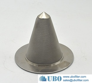 Stainless Steel Sintered Wire Mesh Cone Filter