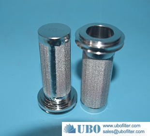 Stainless steel sintered wire mesh metal filter in chemical equipment
