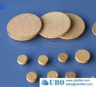 Stainless Steel Powder Sintering Plain Filter Disc