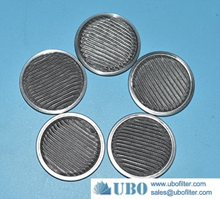 stainless steel Metal Frame Pleated Filter Disc