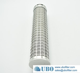 Multi -layer Sintered Metal mesh Perforated tube filter