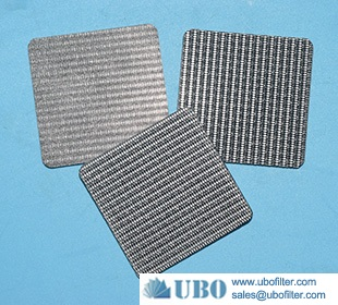 sintered stainless steel filter disc for liquid purification