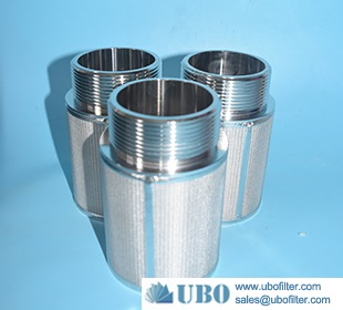 Sintered Stainless Steel Wire mesh filter element Cartridge