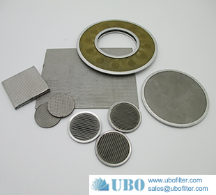 Stainless steel sintered metal filter disc filter cartridge