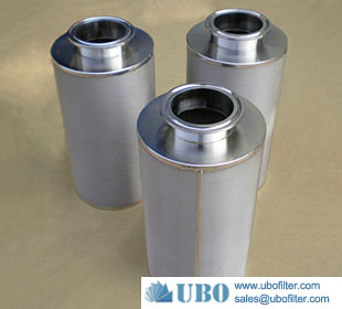 Stainless Steel Powder Sintered Metal Filter Element
