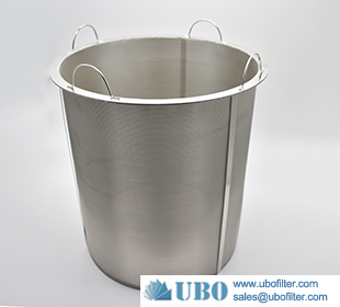 Stainless Steel wire mesh Multi Layer Filter Element Basket Type Filter
