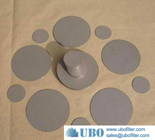 Stainless Steel Metal Sintered Powder Filter plate