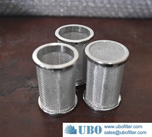 Stainless Steel Single-layer Nets Pipe Filter Elements