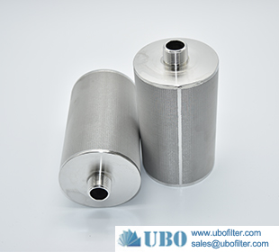 stainless steel wire mesh sinter dust filter