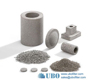 High Pressure Hydraulic Oil stainless steel sintered metal powder filter