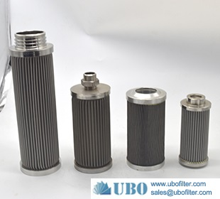Pleated Stainless Steel Wire Cloth Filter strainer