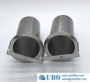 Stainless Steel 316L Industrial Liquid Filter Element Basket Type
