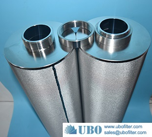 stainless steel Machinery Sintered mesh filter cartridges