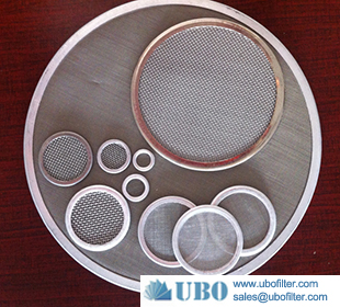 metal wire disc filter cartridge for air purification