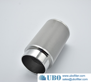 Industrial Sintered Metal Wire Mesh Filter Elements