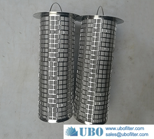 stainless steel sintered filter basket